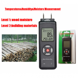 China  Digital Moisture Meter with humidity and Temperature    Digital Moisture Meter with humidity and Temperature   company