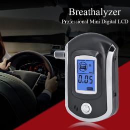 China LCD Digital Breath Professional Alcohol Tester Detector Breathalyzer with 5 Mouthpieces LCD Digital Breath Professional Alcohol Tester Detector Breathalyzer with 5 Mouthpieces company