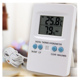 China Max Min Alarm Dual Digital Fridge Thermometer Max Min Alarm Dual Digital Fridge Thermometer company