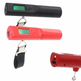 China USB Weighing Luggage Scale With 2600mah Powerbank & Flashlight  USB Weighing Luggage Scale With 2600mah Powerbank & Flashlight  company