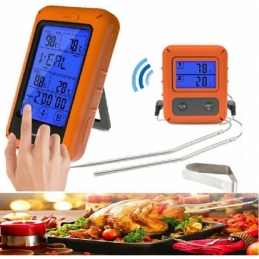 China Touch screen function wireless touch screen food double fork thermometer Touch screen function wireless touch screen food double fork thermometer company