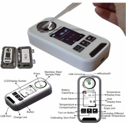 China USB Transfer Digital Brix Refractometer  USB Transfer Digital Brix Refractometer  company