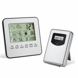 China Wireless weather station  indoor and outdoor thermometer Wireless weather station  indoor and outdoor thermometer company