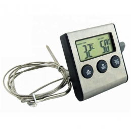 China Cooking Oven BBQ Thermometer for Grill with External Probe Cooking Oven BBQ Thermometer for Grill with External Probe company