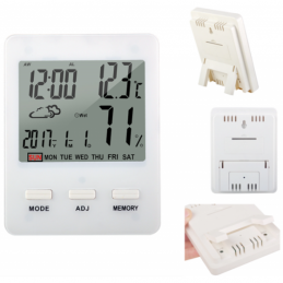 China Digital Desk Clock Thermo Hygrometer With Weather Station Temperature Humidity Digital Desk Clock Thermo Hygrometer With Weather Station Temperature Humidity company